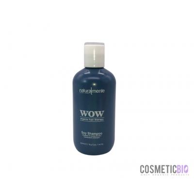 Shampoo WOW alla Keratina Vegetale (Soy Shampoo) » Naturalmente